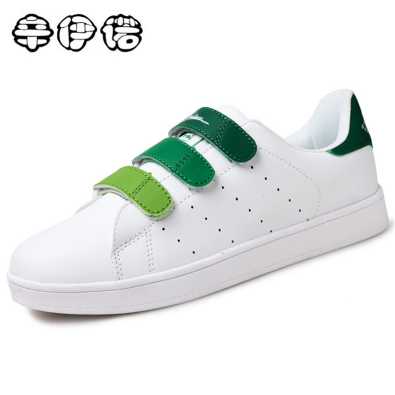 2018 Brand Spring New Fashion Superstar Design PU-leather Men Casual Shoes White Flat Couple Casual Shoes Big Size Over 35-46 shoes men leather 2017 ms casual shoes low help white black flat leisure fashion female superstar shoes tenis feminino mujer