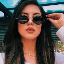 New Fashion Red Black Square Sunglasses Women 2019 Brand Tre