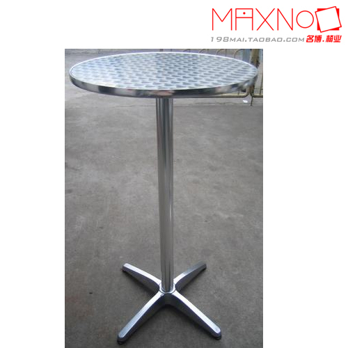 Outdoor High Bar Tables Round Dining Table Modern Minimalist Stainless Steel Cafe In Hotel Chairs From Furniture On Aliexpress