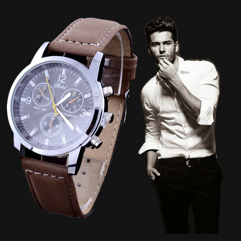 aliexpress com buy 2017 new leather watch men male hot aliexpress com buy 2017 new leather watch men male hot fashion quartz watches business clock teenager casual round dial wristwatch relojes from