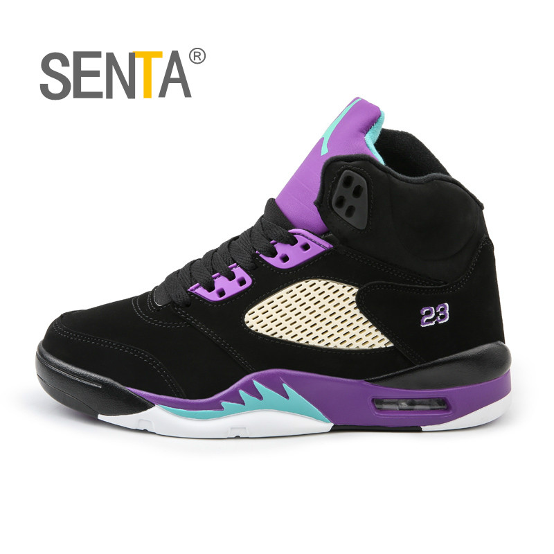 SENTA Men Basketball Shoes High-Tech Anti-Skid Athletic Basketball Boots Breathable Outdoor Basketball Sneakers Traning ShoesSENTA Men Basketball Shoes High-Tech Anti-Skid Athletic Basketball Boots Breathable Outdoor Basketball Sneakers Traning Shoes