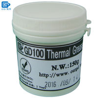 Free Shipping 150g GD100 Thermal Conductive Compound Grease Paste Silicone For Cpu Heatsink