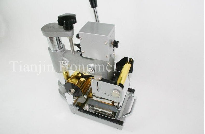 Kõrge kvaliteet! 220 V / 110 V käsitsi kulla kuumfooliumiga - Tööriistakomplektid - Foto 2