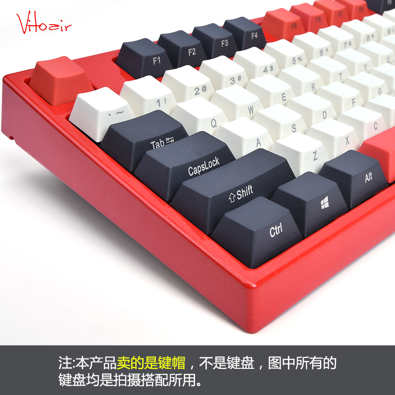 Top side printed pbt keycap for mechanical keyboard 108 keys iso full set dolch keycaps keys