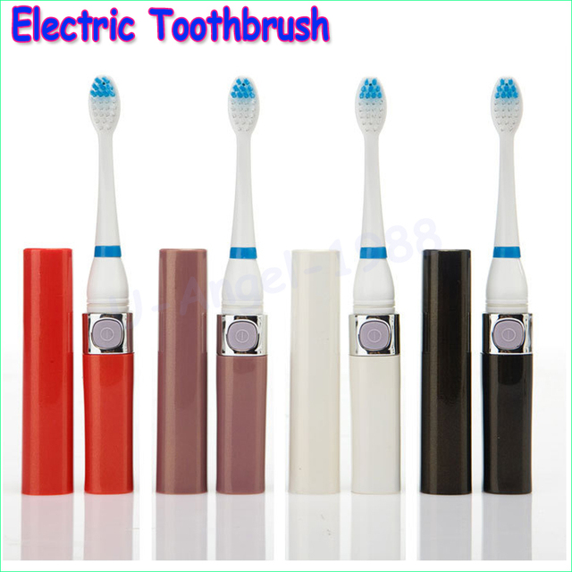 1pcs Battery Electric Toothbrush Ultrasonic Sonic Rotary Electric Toothbrush No Rechargeable Tooth Brush