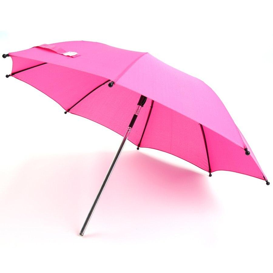 Wheelchair Pushchair Baby Stroller Umbrella Parasol UV Rays Rain Sun Canopy 3 Colors A-in Umbrellas from Home u0026 Garden on Aliexpress.com | Alibaba Group  sc 1 st  AliExpress.com & Wheelchair Pushchair Baby Stroller Umbrella Parasol UV Rays Rain ...