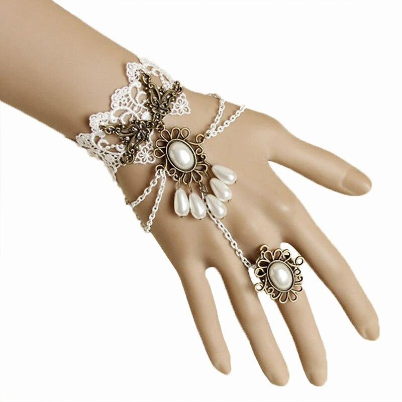Ručno izrađene ženske perle kapljice slojevitog lanca Faux biserni - Modni nakit - Foto 1