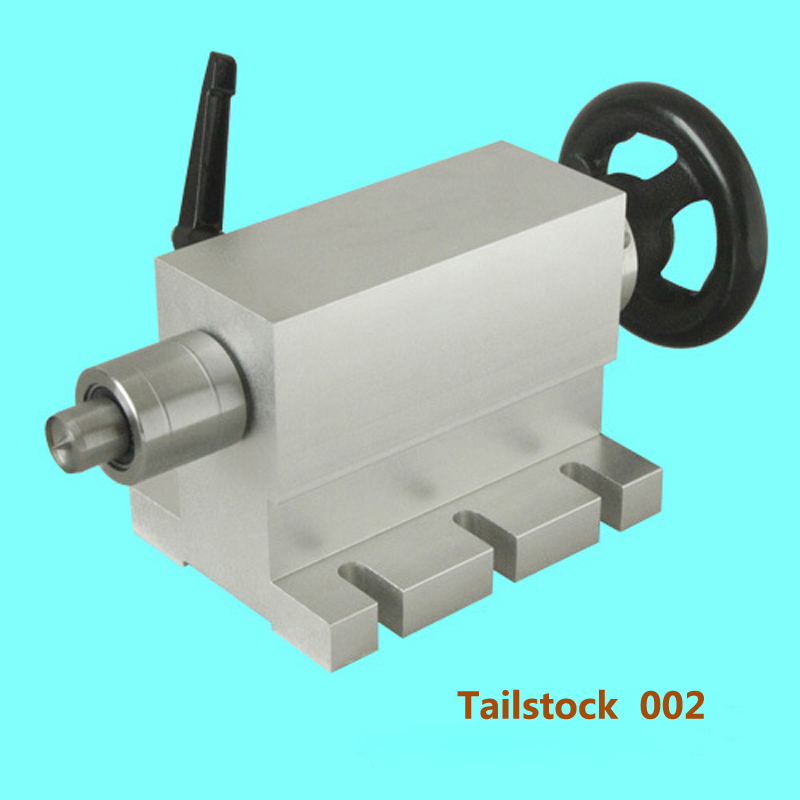 CNC tailstock 4 Axis MT2 Rotary Axis Lathe Wood router Chuck for CNC Router Engraving Machine cnc 5 axis rotary axis t chuck type for cnc router cnc milling engraving machine