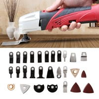 Good Quality 100 pcs Oscillating Multi Tool Saw Blades Accessories kit For FEIN BOSCH MAKITA