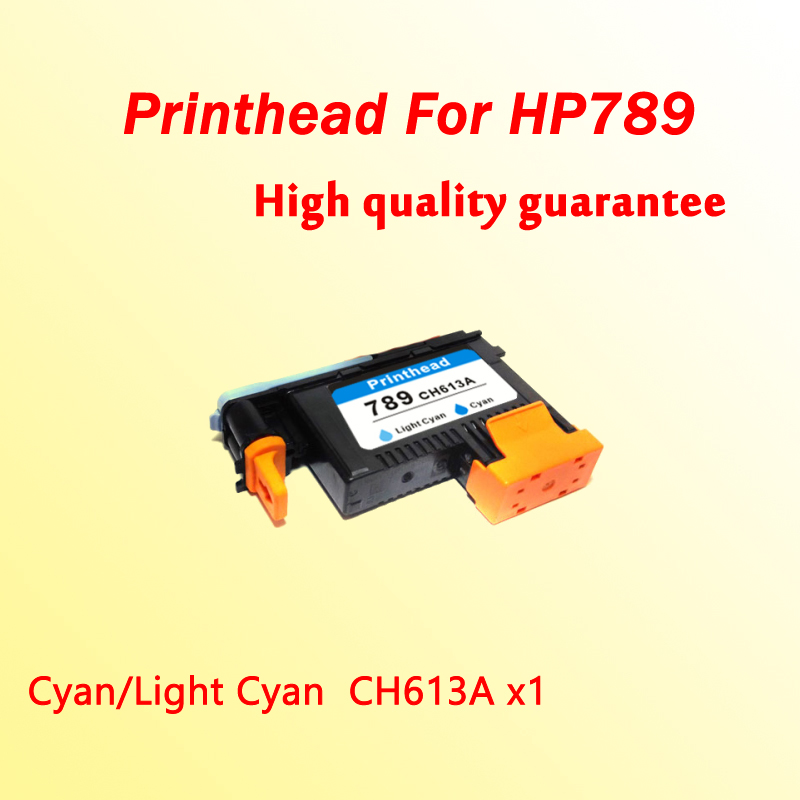 1x Cyan/Light Cyan printhead for hp789 CH612A compatible for hp 789  L25500 printer  1x 789 printhead yellow black for hp 789 l25500 printer head ch612a
