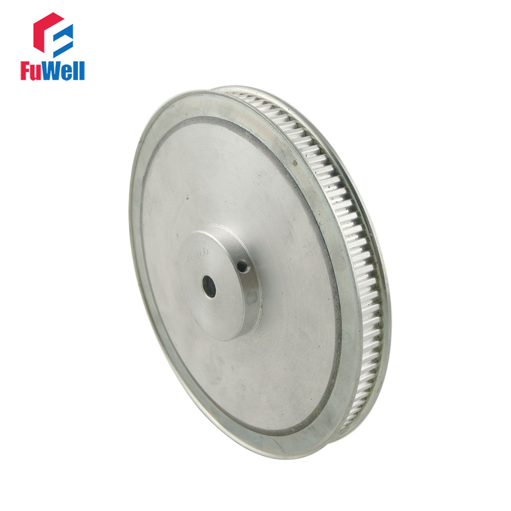 80T XL Timing Pulley 10/12mm Inner Bore Dia. 11mm Belt Width 5.08mm Pitch 80Teeth Aluminum Alloy Synchronous Timing Belt Pulleys 12 7mm pitch h aluminum pulley 30 h 25 timing belt gears