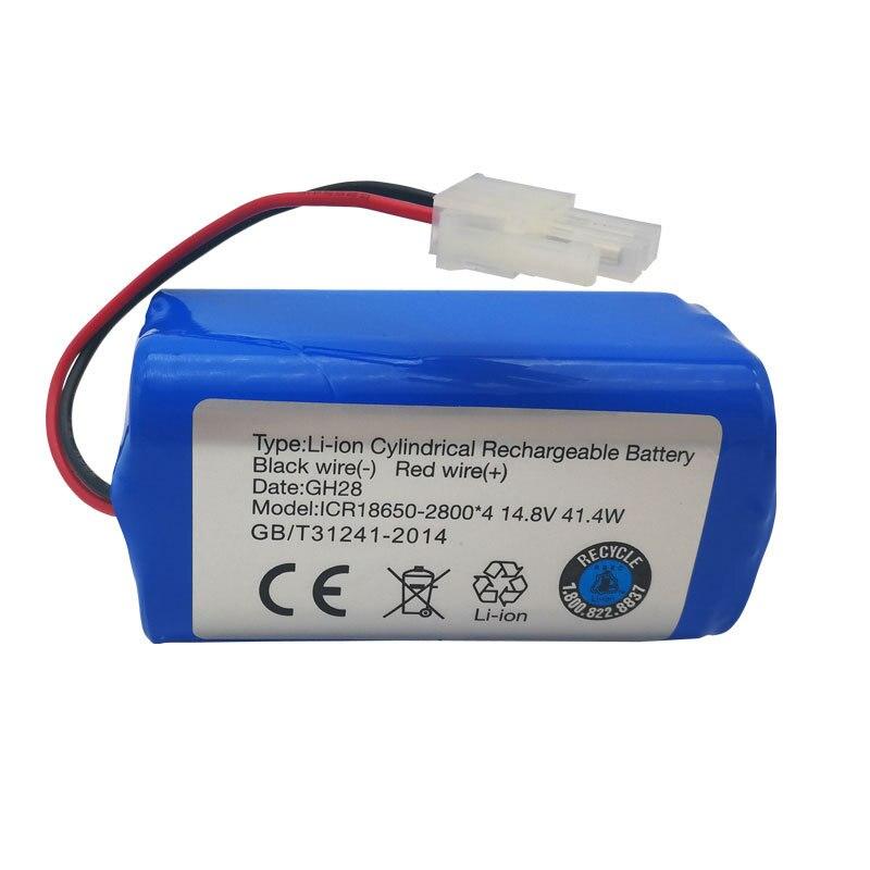 2800 mah 14.8 v Rechargeable Batterie au lithium batterie pour aspirateur Pour X432 Cobos CR130 CEN550 CEN640 batterie au lithium