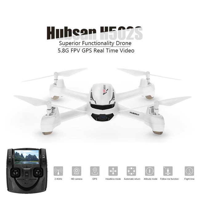 Original Hubsan X4 H502S Rc Helicopter 5.8G FPV With 720P HD Camera...