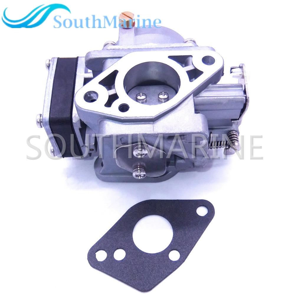 3B2-03200-1 3K9-03200-0 3G0-03200-0 Carburateur Assy et 369-02011-0 Joint pour Tohatsu Nissan 2-course 9.8HP M9.8 NS9.8 Hors-Bord