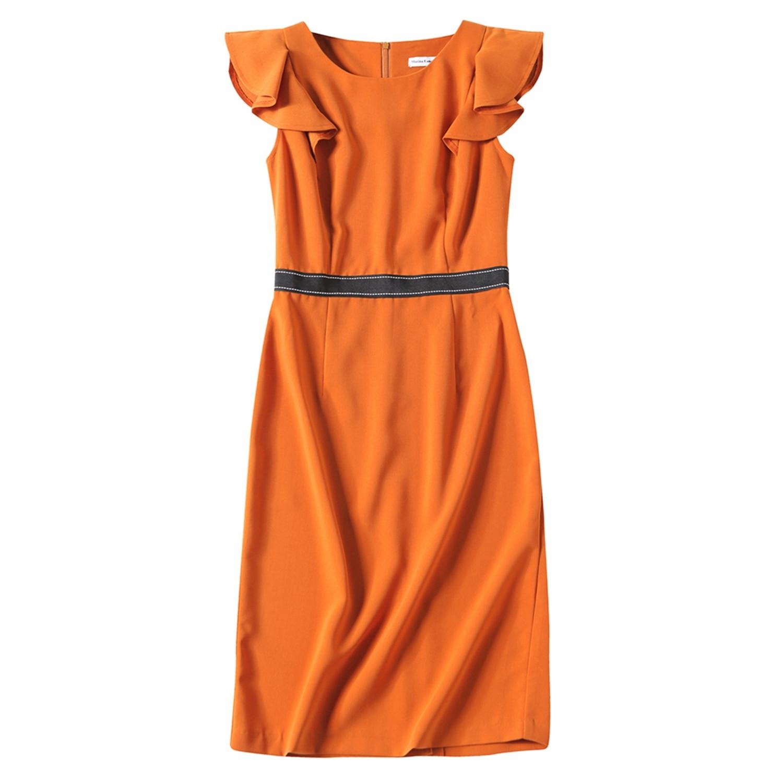 Marina Kaneva Women's Summer Sleeveless High-end Slim Thin Two fake wish explosion dress