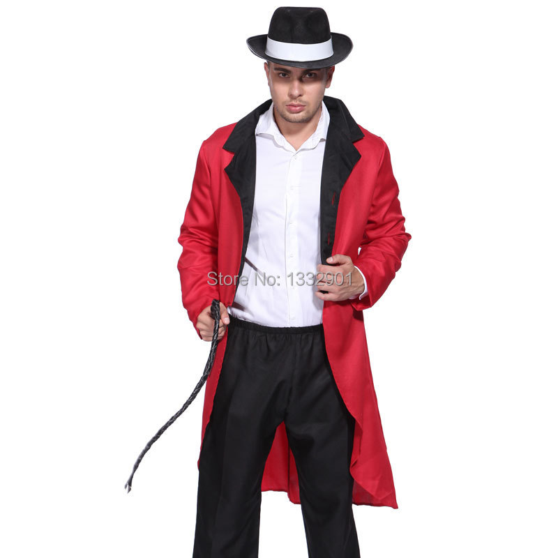 0c6064658 Mens Circus Ringmaster Lion Tamer Costume Tuxedo Tail Jacket Coat Dress-in  Menu0027s Costumes From Novelty U0026 Special Use On Aliexpress.com |  Alibaba ...