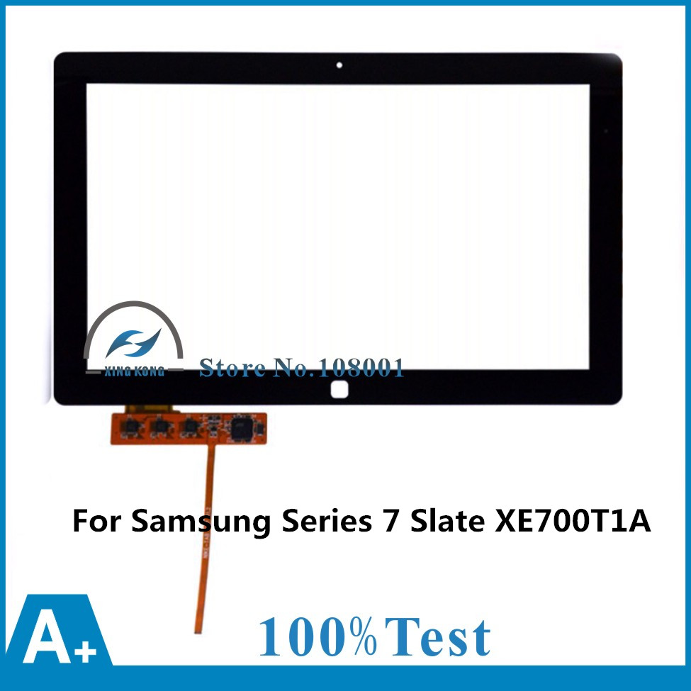 Original New 11.6 inch Touch Screen Panel Digitizer Glass Lens Replacement Repairing Parts For Samsung Series 7 Slate XE700T1A диск dvd r verbatim 4 7gb 16x cake box 10 шт
