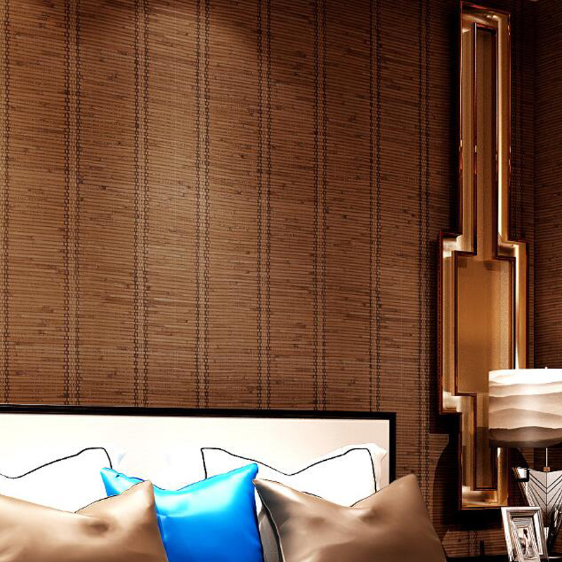 Southeast Asian Style Wallpaper Grass Living Room Bedroom Sofa TV Background Wall Paper Roll in Wallpapers from Home Improvement