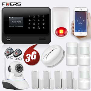 Image 4 - FUERS 2019 NEW WIFI GSM 3G G90B Wireless Home Security Alarm System IOS Android APP Control Home Burglar Security