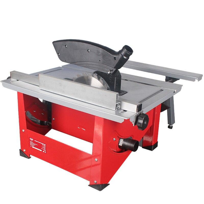 Máquina Eléctrica de sierra de mesa de carpintería multifunción de corte de ángulo de ajuste de la máquina de fabricación de sierra de madera - 3