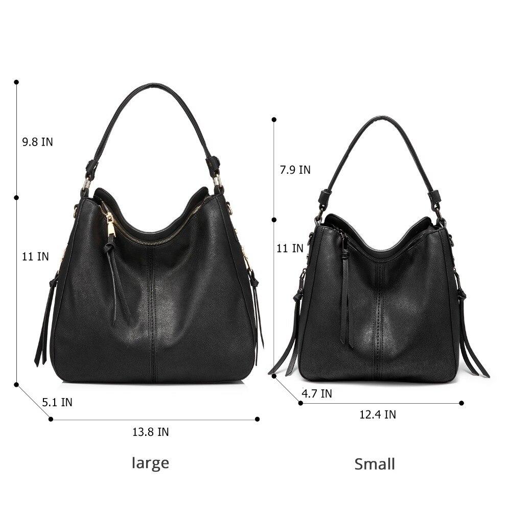 Handbags for Women Large Designer Ladies Hobo bag Bucket Purse Faux Leather 1