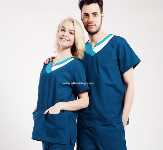 Wholesale uniformes clinicos beauty salon nurse uniform design medical gowns work wear nursing scrubs clothing spa medical robe