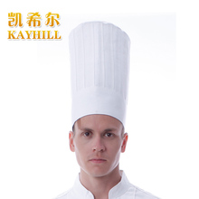 Hot Cook hat cloth cadet restaurant cap white nano oil waterproof chef hat(China)