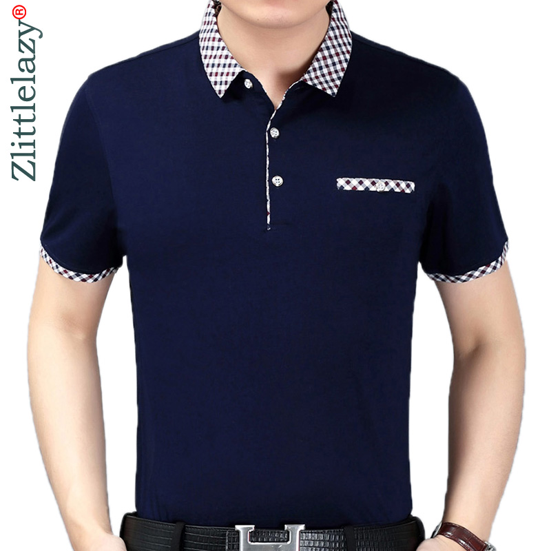 2019 brand new short sleeve fitness   polo   shirt men camisa masculino casual solid   polos   shirts mens poloshirt clothing jersey 894