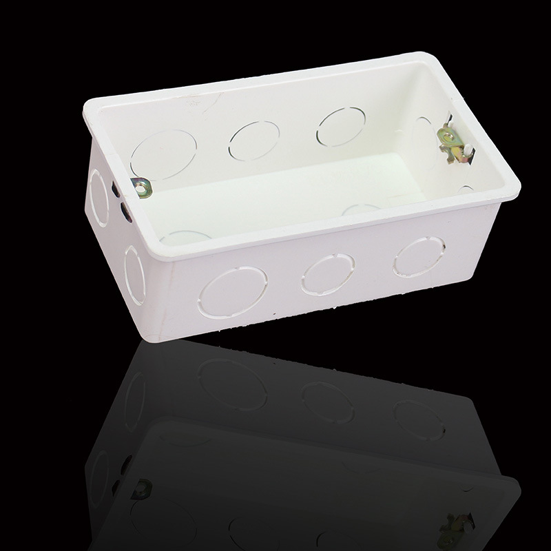 Aseer wall mounting box internal cassette white box 140*78*50mm use for 146*86*38mm standard touch switch and socket (146 wall mount box)