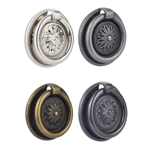 2PCS European drawer antique pull ring small handle 54*13mm Drawer/closet/cabinet handle цены