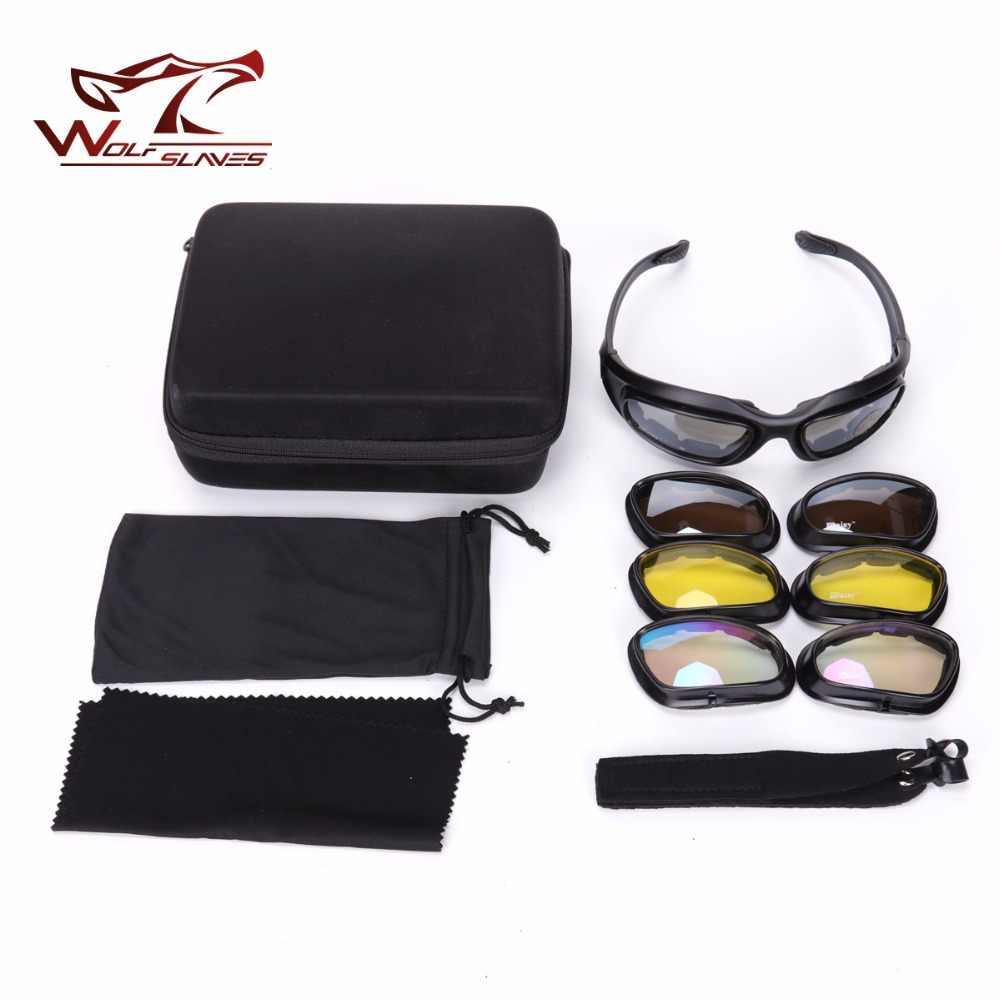 Армейские очки солнцезащитные UV 400 защита военные для мужчин тактические спорта