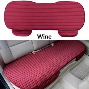 Image 3 - Автомобильные чехлы на заднее сиденье, зимние защитные чехлы на заднее сиденье, универсальный размер, чехлы для сидений автомобиля