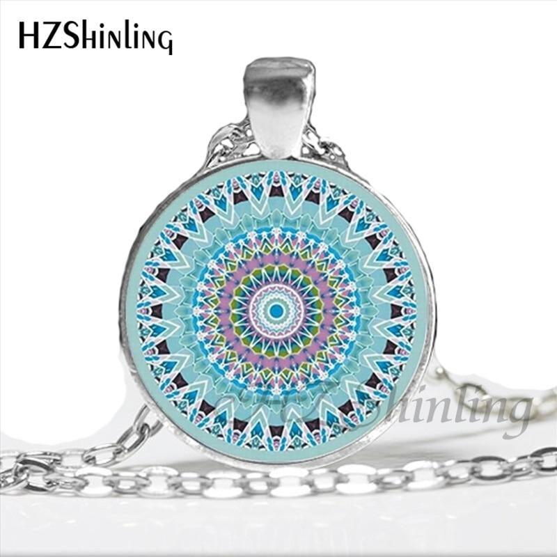 aeProduct.getSubject()  NS-00815 New Fashion Mandala Necklace Yoga Pendant Jewelry Bohemian Style Glass Cabochon Art Photo Necklace Women Gifts HZ1 HTB1y