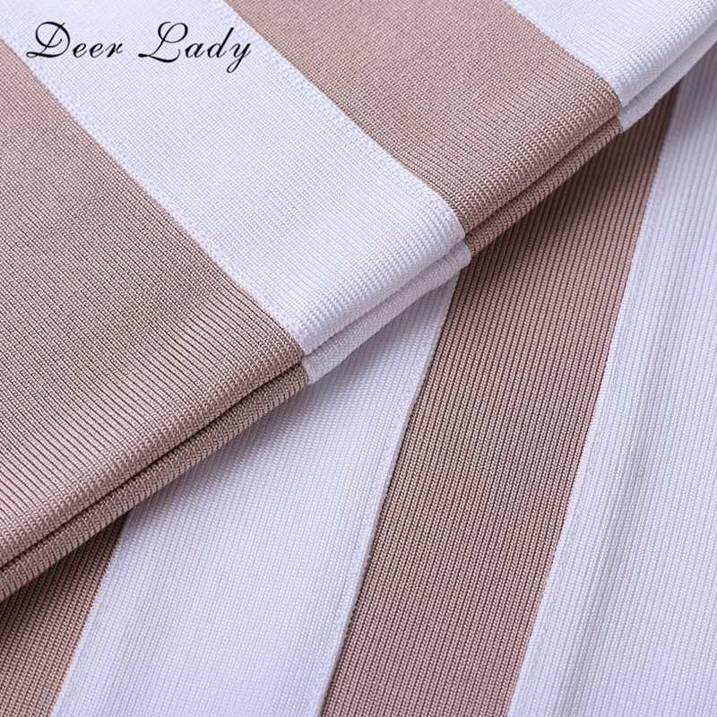 Hươu Nữ Mới Nữ Băng Đô Đầm Chất Lượng Cao 2019 Hở Lưng Dài Băng Đô Đầm Lưới Hoa Trắng Đen Ôm Body Đầm Clubwear