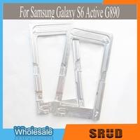 1 pcs Laminados de Vidro Tela De LCD Alinhamento Molde Para Samsung Galaxy S6 Ativo G890 Alumínio Molde Posicionamento
