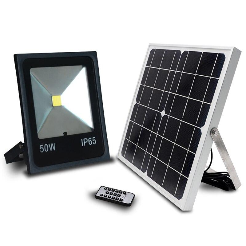 IP65 высокая яркость 1500LM светодиодный 50 Вт солнечные светодиодный прожекторы Солнечный свет пятна солнечной светодиодный свет открытый Foco светодиодный снаружи
