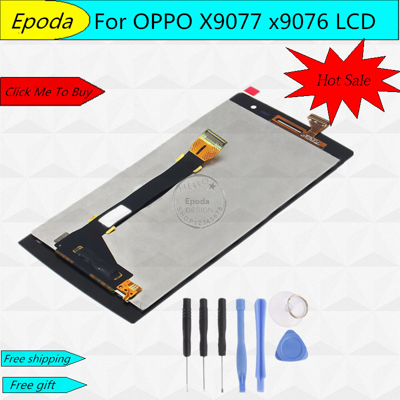FOR OPPO X9077 x9076 Find 7 Original LCD Display +Digitizer touch Screen Assembly 2560x1440 Free Shipping