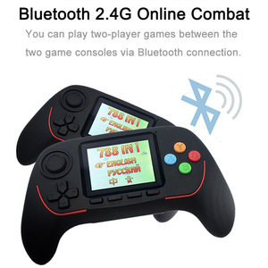 Image 3 - Portable Handheld Game Console Built in Classic Games 16 Bit HD Joystick Game Console Bluetooth 2.4G Online Combat For Children