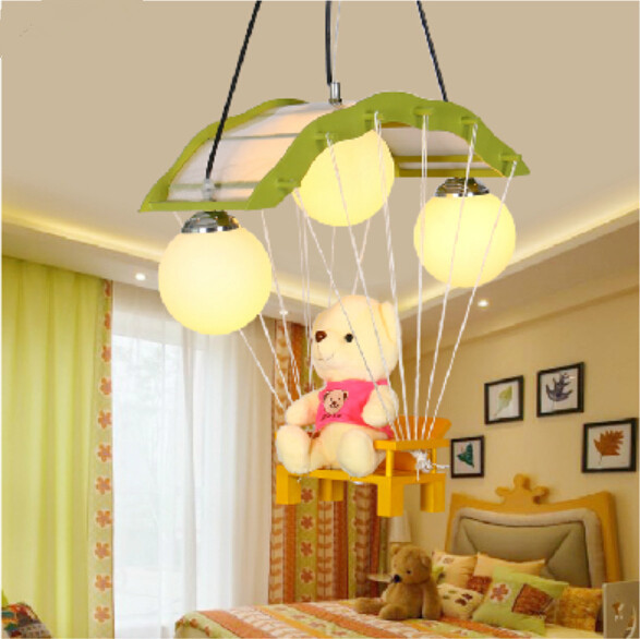 Lovely Modeling Lamp Ceiling Lights Cubs Children S Led Cartoon Male And Female Baby Room Bedroom