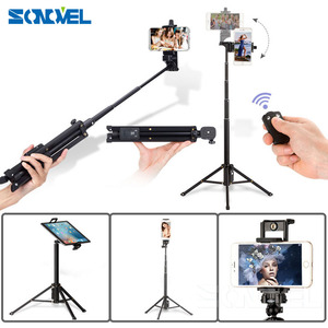 Image 2 - Yunteng 1688 3in1 Bluetooth Remote Shutter Handvat Selfie Stok Mini Tafel Statief Voor Ios Android Iphone Samsung Smartphone