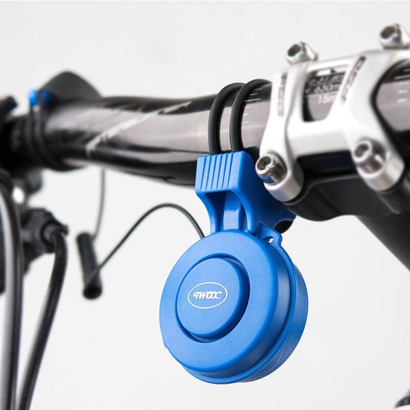 TWOOC Wiederaufladbare 120db Zyklus Glocke Elektronische Horn Sicherheit Trompete USB Gebühr Fahrrad Sirene Audio Warnung Alarm