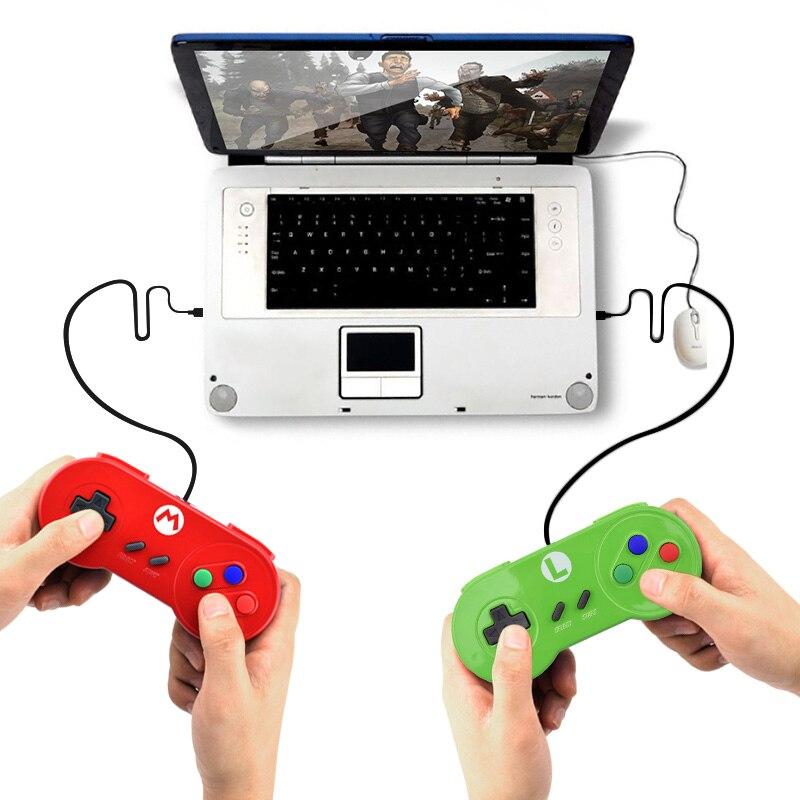 Nintendo SNES USB Gamepad | For Windows PC/ MAC/Laptop 4