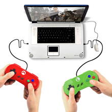 Data Frog Special Custom For Nintendo SNES USB Controller Glossy Shell Gaming Joystick Gamepads For Windows PC/ MAC/Laptop