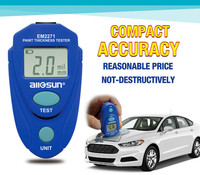 Em2271 Em2271a Digital Mini Automobile Thickness Gauge Car Paint Tester Thickness Coating Meter Ship From Russia