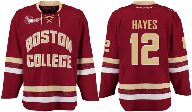 d81da40b2 SexeMara Boston College johnny gaudreau kevin hayes chris kreider Stitched  Hockey Jersey (or custom any name number)