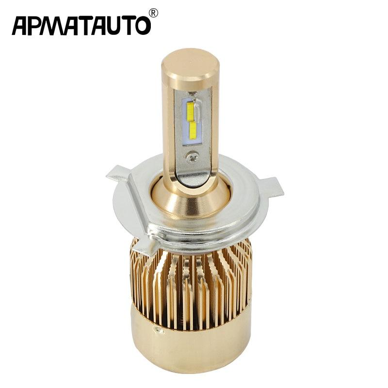 9003 H4 Motorcycle COB LED Headlight Hi//Lo Beam Front Light Bulb Lamp Conversion