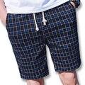 2017 Cortocircuitos del Tablero de Los Hombres pantalones de Chándal Outwear Troncos de Los Hombres de Moda Casual Delgado Se Adapta Activo Hasta La Rodilla Pantalones Cortos de Playa Bermudas Masculina