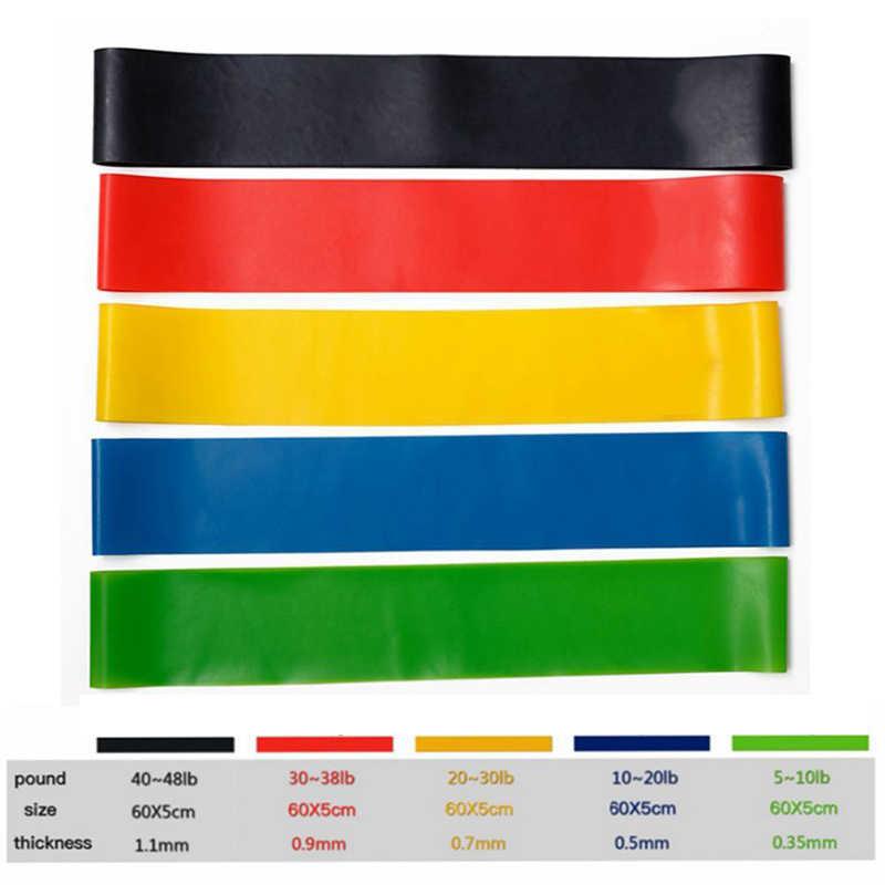 Odporność na joga zespół trening Fitness opaski gumowe sprzęt do fitnessu elastyczne gumki dla Fitness Sport gumy Expander pasek