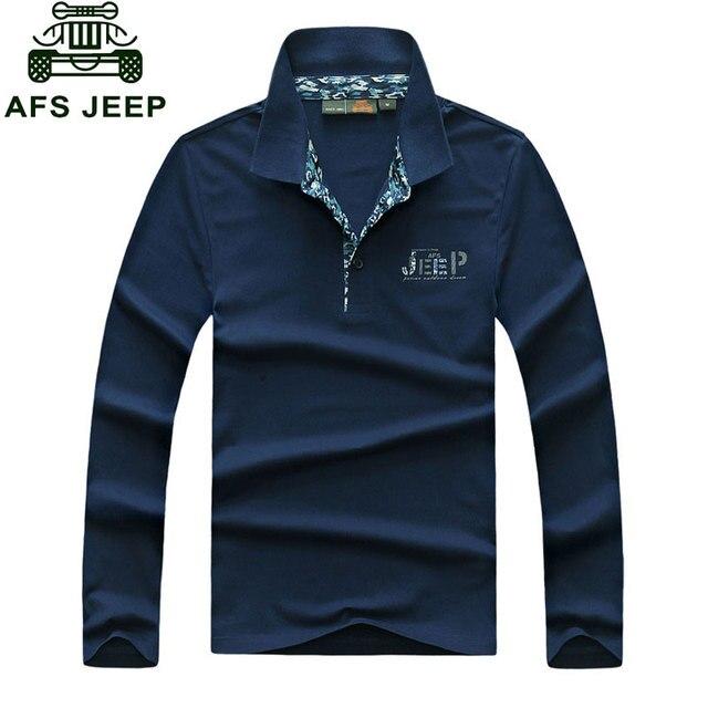Одежда Брендовая одежда 2017 Осень Повседневная мужская Polo Рубашки С Длинным Рукавом Хлопок Топы Тис Turn Down Длинным Рукавом одежда