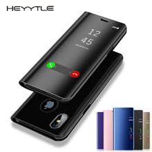 Heyytle Clear View Smart Mirror Phone Case For ipho